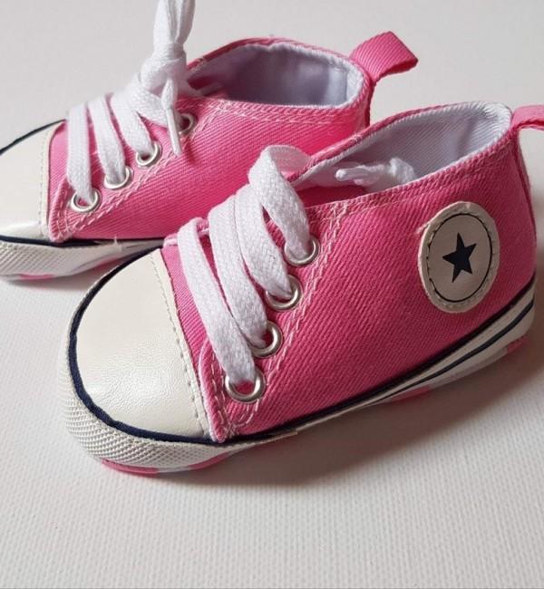 Детски розови кецове