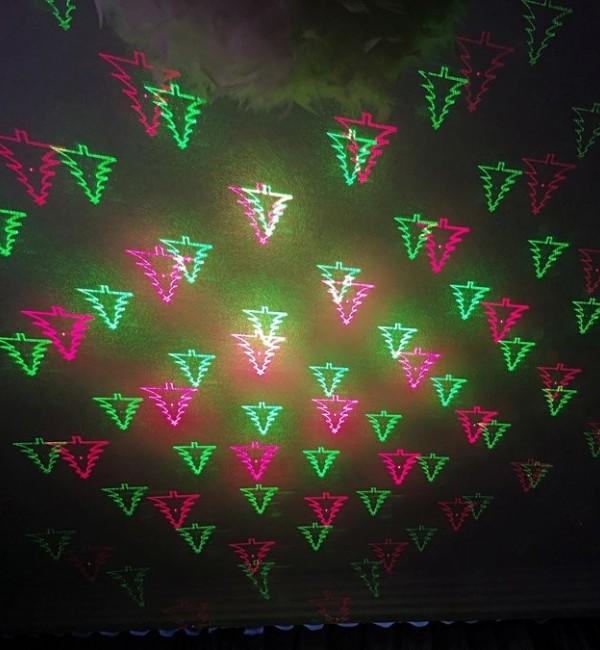 Лед Коледен лазерен прожектор ,LED Външен Диско ефект,Цветен прожектор
