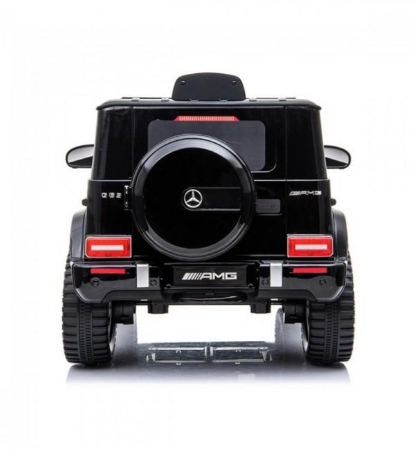 Акумулаторен джип Mercedes G63 AMG Facelift 12V с меки гуми и кожена седалка